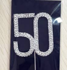 50th Anniversary Cupcake Decorations Popular 50th Anniversary Decorations Buy Cheap 50th Anniversary