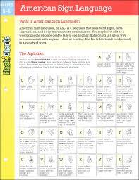 American Sign Language Flashchart 057392 Details Rainbow