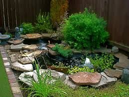 Awesome Backyard Pond Design But Itu0027ll Need To Be Muchmuch Small Ponds In Backyard
