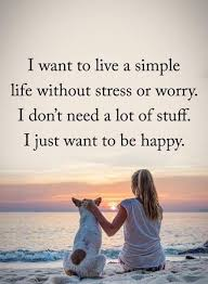 Life Stress Quotes Extraordinary Happy Life Quotes Live Simple Be Happy No Stress BoomSumo Quotes