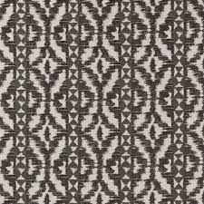 clarke clarke black white bw1005 ikat fabric