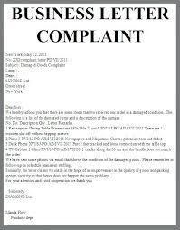 Formal Letters Of Complaint Formal Letter Of Complaint Sample Image Formal Letter Of Complaint