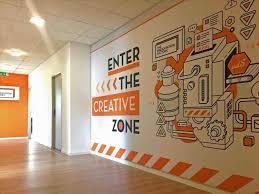 wall murals office. Wall Stickers Creative Office Murals Excitingofficewall