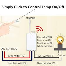 1900 Light Switch Remote Control Ceiling Lamp Led Bulb Wsdcam Wireless Light