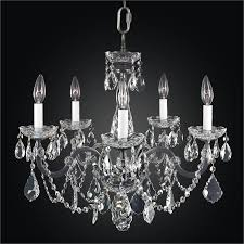old world design lighting. Iron And Crystal Chandelier \u2013 5 Light   Old World 543AD5LVP-3C Design Lighting