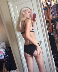 Teen blonde great ass