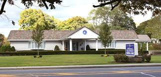 exterior of hauppauge funeral home