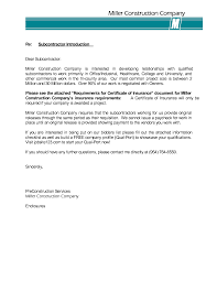 Cover Letter For Construction Company Choice Image Cover Letter
