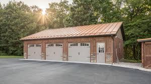 copper penny roof on 3 car garage a b martin 4k