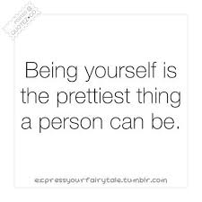 BEING YOURSELF QUOTES image quotes at BuzzQuotes.com