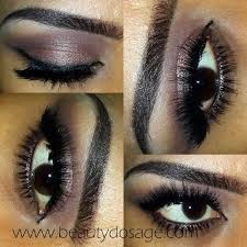 the look she had on was a very bronzy smokey eye with minimal effort you need just a few things to do this look too