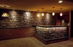 Basement Wall Ideas Stone
