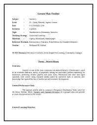 sample lesson plan outline writing a lesson plan template ender realtypark co