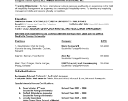 Resume Formats 2014 Resume Format Sales Executive