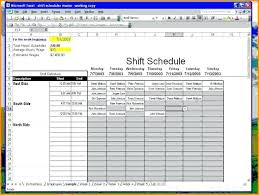 how to make a time schedule in excel how to create an employee schedule in excel creating schedules in