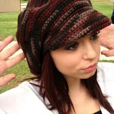 Crochet Newsboy Hat Pattern Interesting Newsboy Hat With Visor Crochet Newsgirl From GabysSchaufenster