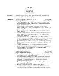 resume landscaping resume creative landscaping resume full size
