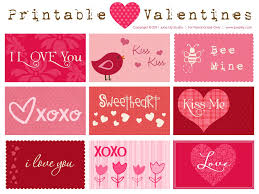12 Free Printable Valentines Cards For Valentines Day