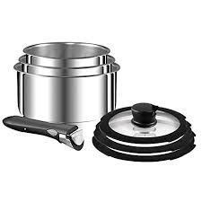 stackable cookware sets. Plain Cookware Tefal Ingenio 11 Piece Stackable Stainless Steel Cookware Set For Sets A