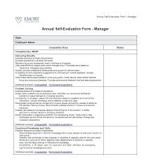 Words For Employee Evaluation Appraisal Example Words Self Appraisal Template Bottleapp Co