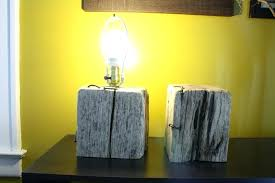 wood base lamp wooden lamp base one day this will come in handy i like the
