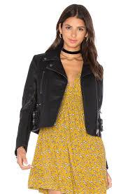 free people soho vegan leather jacket black womens free people de she gorgeous