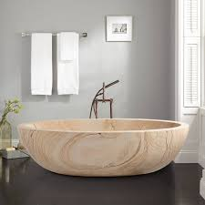 freestanding bathtub faucet small bath japanese designer natural stone bathroom pop up stopper liners mansfield