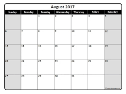 2017 calendars by month august 2017 calendar august 2017 calendar printable