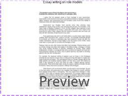 essay writing on role models custom paper help essay writing on role models writing a role model essay examples my role model essay