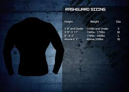 Tapout Clothing Size Chart Size Charts Mma Shop Singapore