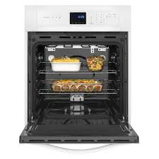 whirlpool 24 3 1 cu ft single wall oven with accubake reg system