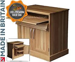solid oak hidden home. Heartland Oak 100% Solid Desk, Drop Down Computer Workstation,  Hideaway Solid Oak Hidden Home