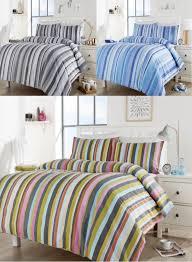modern duvet cover bedding set all sizes linenstar maine stripes multi duvet