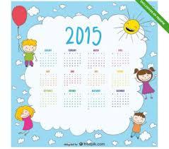 Cinco Calendarios 2015 Para Personalizar E Imprimir