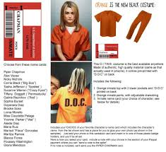 Special New Ebay Is Prison Orange Black Pc Womens Listing Ship 2 Costume Globa