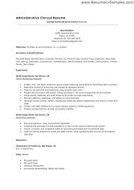 Clerical Resume Template Awesome Clerical Duties On Resume Clerical Resume Sample Fresh Clerical