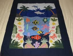 Hawaiian Quilt Shop Blankets & Swaddling: Hawaiian Quilt Baby ... & Blankets & Swaddling Hawaiian Quilt Shop image - Hawaiian Quilt Baby  Blanket/Wall Hanging, Adamdwight.com
