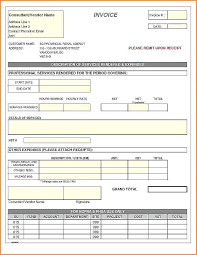 Tax Oice Excel Format Sample Template Free Standard Invoice Xls ...