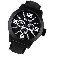 kenneth cole reaction black dial mens watch rk1267 kenneth cole quartz reaction gents watch rk1267