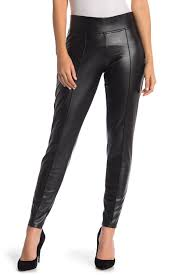 image of hue faux leather leggings