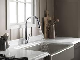Luxury Kitchen Faucet Brands Kohler K 596 Vs Simplice Single Hole Pull Down Kitchen Faucet