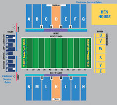 Cougar Stadium Seating Chart Ud Football Stadium Seating Chart Football Stadiums