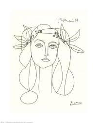 Resultado de imagen de Picasso de uno solo trazo