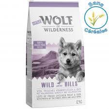 Avis Wolf of Wilderness junior wild hills canard chien