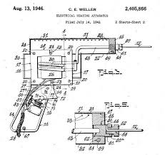 the pennsylvania center for the book ering gun patent diagram for weller s ering gun