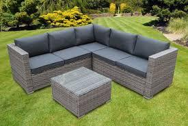 5 seater rattan garden furniture set