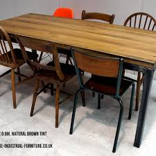 industrial restaurant furniture. Vintage Industrial Oak Table Industrial Restaurant Furniture