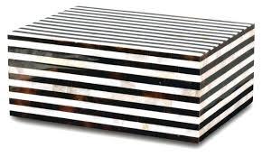 Black And White Decorative Boxes