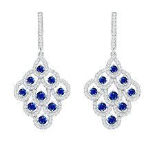 sterling silver chandelier earrings sterling silver marcasite chandelier earrings