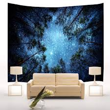 starry night sky wall hanging tapestry best wall decoration